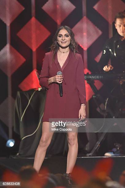 Recording artist Daya performs onstage during Z100's Jingle Ball 2016 at Madison Square Garden on December 9 2016 in New York New York