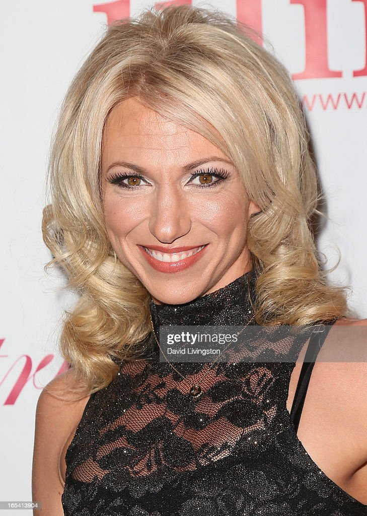 Recording artist Debbie Gibson attends iiJin's Fall/Winter 2013 'The Love Revolution' fashion show at Avalon on April 3, 2013 in Hollywood, California.
