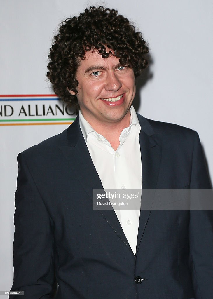 Recording artist Declan O'Rourke attends the 8th Annual 'Oscar Wilde: Honoring The Irish In Film' Pre-Academy Awards Event at Bad Robot on February 21, 2013 in Santa Monica, California.