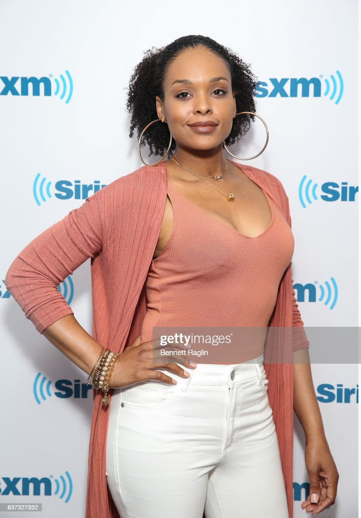 Recording artist Demetria McKinney visits SiriusXM at SiriusXM Studios on August 22, 2017 in New York City.