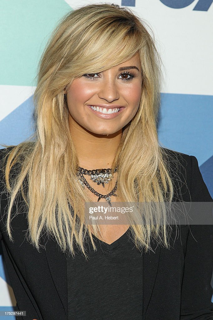 Recording artist <a gi-track='captionPersonalityLinkClicked' href=/galleries/search?phrase=Demi+Lovato&family=editorial&specificpeople=4897002 ng-click='$event.stopPropagation()'>Demi Lovato</a> attends the Fox All-Star Party on August 1, 2013 in West Hollywood, California.