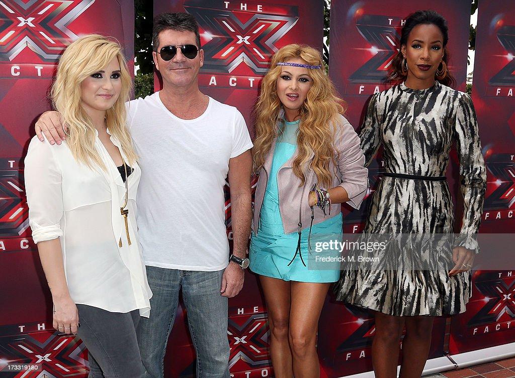 """Fox's """"The X Factor"""" Judges - Arrivals"""