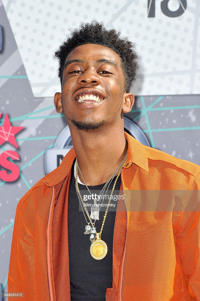 Recording artist <a gi-track='captionPersonalityLinkClicked' href=/galleries/search?phrase=Desiigner+-+Rapper&family=editorial&specificpeople=15733824 ng-click='$event.stopPropagation()'>Desiigner</a> attends the 2016 BET Awards at Microsoft Theater on June 26, 2016 in Los Angeles, California.