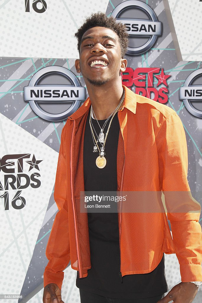 Recording artist <a gi-track='captionPersonalityLinkClicked' href=/galleries/search?phrase=Desiigner+-+Rapper&family=editorial&specificpeople=15733824 ng-click='$event.stopPropagation()'>Desiigner</a> attends the Make A Wish VIP Experience at the 2016 BET Awards on June 26, 2016 in Los Angeles, California.