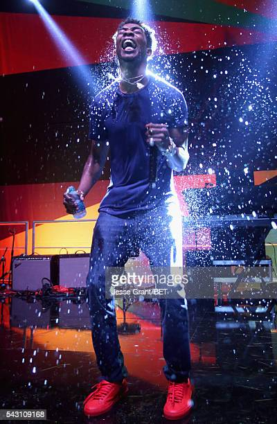 recording artist Desiigner performs on the BETX Stage sponsored by Nissan and JG Wentworth during the 2016 BET Experience on June 25 2016 in Los...