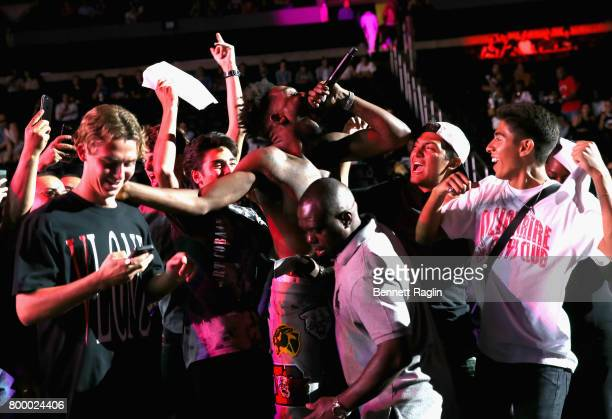 Recording artist Desiigner performs onstage at night one of the 2017 BET Experience STAPLES Center Concert sponsored by Hulu at Staples Center on...