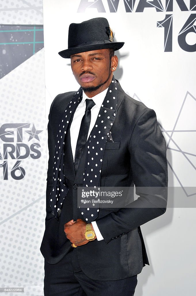Recording artist Diamond Platnumz attends the 2016 BET Awards at Microsoft Theater on June 26, 2016 in Los Angeles, California.