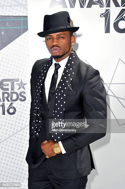 Recording artist Diamond Platnumz attends the 2016 BET Awards at Microsoft Theater on June 26 2016 in Los Angeles California