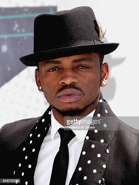 Recording artist Diamond Platnumz attends the 2016 BET Awards at the Microsoft Theater on June 26 2016 in Los Angeles California