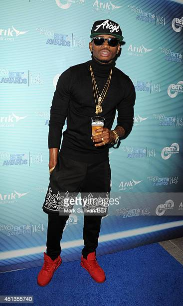 Recording artist Diamond Platnumz attends the International talent reception VIP party during the BET AWARDS '14 on June 27 2014 in Los Angeles...