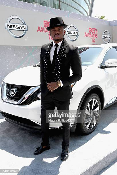 Recording artist Diamond Platnumz attends the Nissan red carpet during the 2016 BET Awards at the Microsoft Theater on June 26 2016 in Los Angeles...