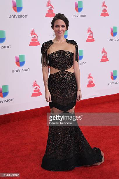 Recording artist Diana Fuentes attends The 17th Annual Latin Grammy Awards at TMobile Arena on November 17 2016 in Las Vegas Nevada