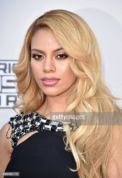 Recording artist DinahJane Hansen of Fifth Harmony attends the 2015 American Music Awards at Microsoft Theater on November 22 2015 in Los Angeles...