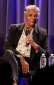 Recording artist Dionne Warwick speaks onstage at Being Dionne Warwick A Reel To Reel Benefit For MusiCares And The GRAMMY Museum at The GRAMMY...