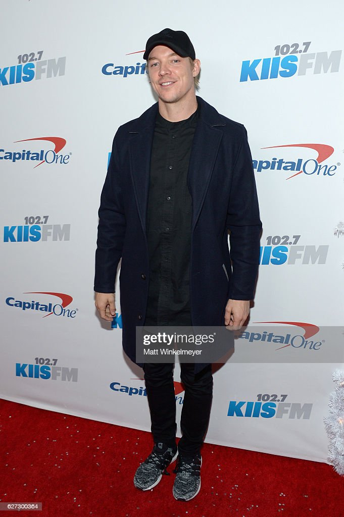 Recording artist Diplo attends 102.7 KIIS FM's Jingle Ball 2016 at Staples Center on December 2, 2016 in Los Angeles, California.