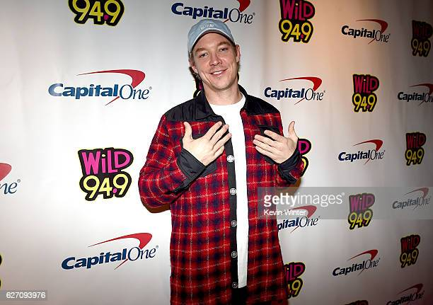 Recording artist Diplo attends WiLD 949's FM's Jingle Ball 2016 presented by Capital One at SAP Center on December 1 2016 in San Jose California