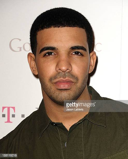 Recording artist Drake attends the launch of Google Music at Mr Brainwash Studios on November 16 2011 in Los Angeles California