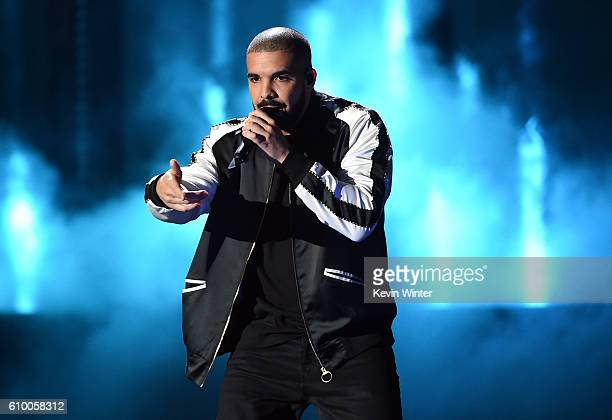Recording artist Drake performs onstage at the 2016 iHeartRadio Music Festival at TMobile Arena on September 23 2016 in Las Vegas Nevada