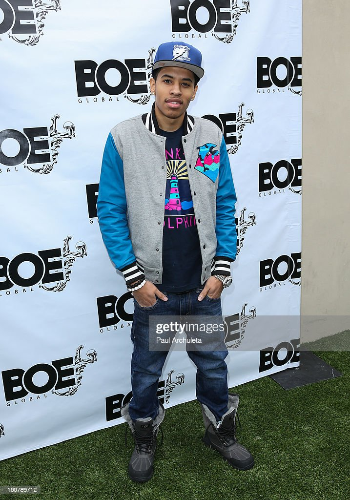 Recording Artist Driicky Graham attends the 1st Annual Grammy Producers Brunch at Xen Lounge on February 5, 2013 in Los Angeles, California.
