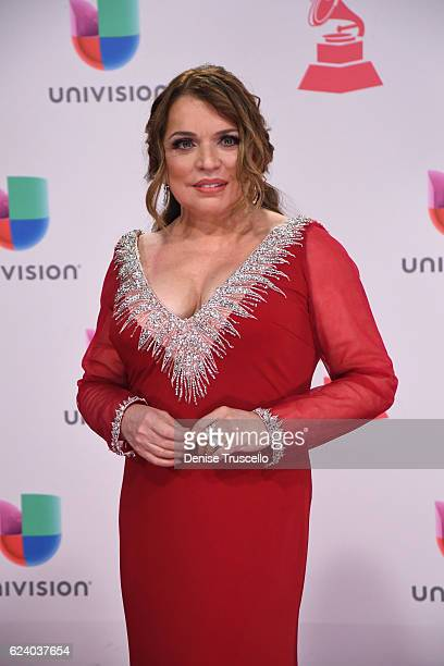 Recording artist Ednita Nazario attends The 17th Annual Latin Grammy Awards at TMobile Arena on November 17 2016 in Las Vegas Nevada