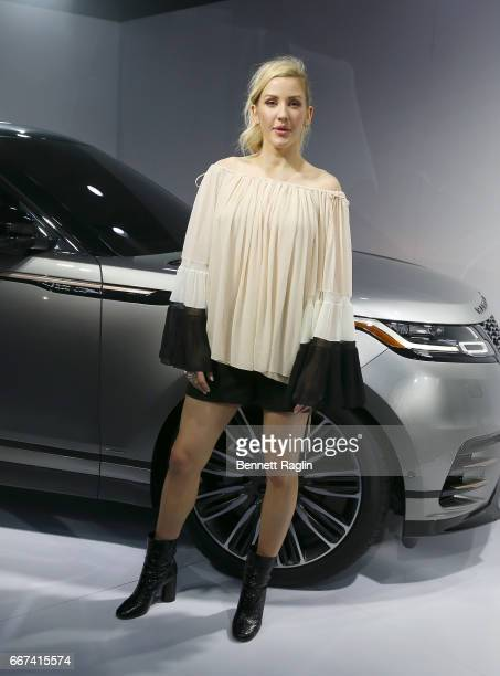 Recording artist Ellie Goulding attends the Range Rover Velar US Debut at Lincoln Ristorante on April 11 2017 in New York City