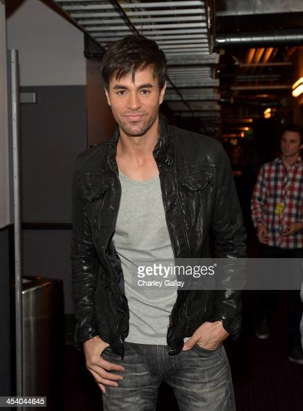 Recording artist Enrique Iglesias attends The GRAMMY Nominations Concert Live Countdown to Music's Biggest Night at Nokia Theatre LA Live on December...