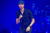 Enrique Iglesias And Pitbull Perform At Valley View...