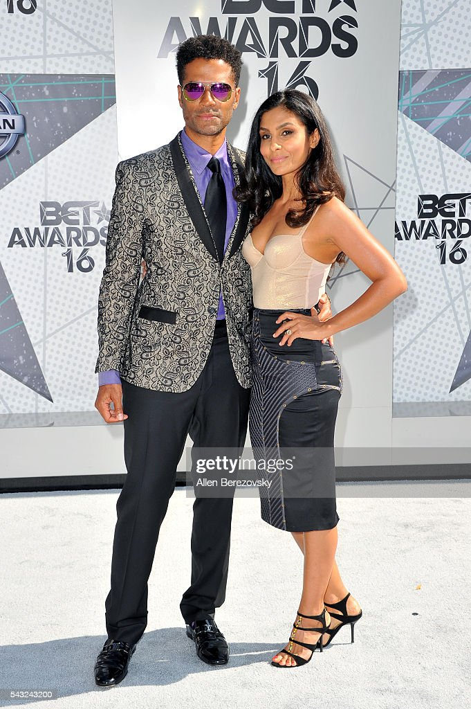 Recording artist <a gi-track='captionPersonalityLinkClicked' href=/galleries/search?phrase=Eric+Benet&family=editorial&specificpeople=778854 ng-click='$event.stopPropagation()'>Eric Benet</a> (L) and <a gi-track='captionPersonalityLinkClicked' href=/galleries/search?phrase=Manuela+Testolini&family=editorial&specificpeople=657395 ng-click='$event.stopPropagation()'>Manuela Testolini</a> attend the 2016 BET Awards at Microsoft Theater on June 26, 2016 in Los Angeles, California.