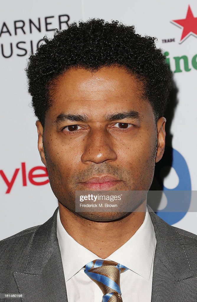 Recording artist <a gi-track='captionPersonalityLinkClicked' href=/galleries/search?phrase=Eric+Benet&family=editorial&specificpeople=778854 ng-click='$event.stopPropagation()'>Eric Benet</a> attends Warner Music Group's 2013 Grammy Celebration at Chateau Marmont's Bar Marmont on February 10, 2013 in Hollywood, California.