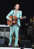 Recording artist Eric Hutchinson performs on stage at Nikon at Jones Beach Theater on July 22 2016 in Wantagh New York