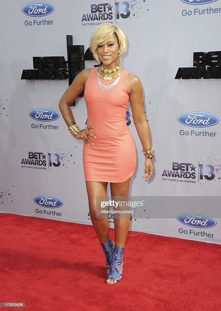 Recording artist Eve attends 2013 BET Awards - Arrivals at Nokia Plaza L.A. LIVE on June 30, 2013 in Los Angeles, California.