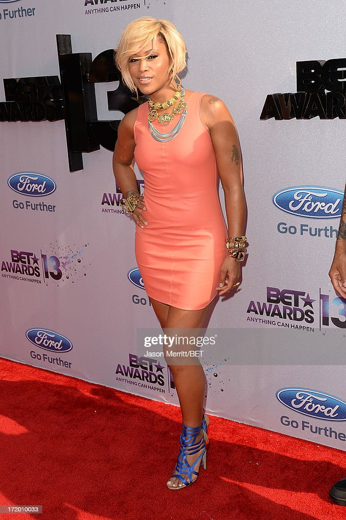 Recording Artist Eve attends the Ford Red Carpet at the 2013 BET Awards at Nokia Theatre L.A. Live on June 30, 2013 in Los Angeles, California.