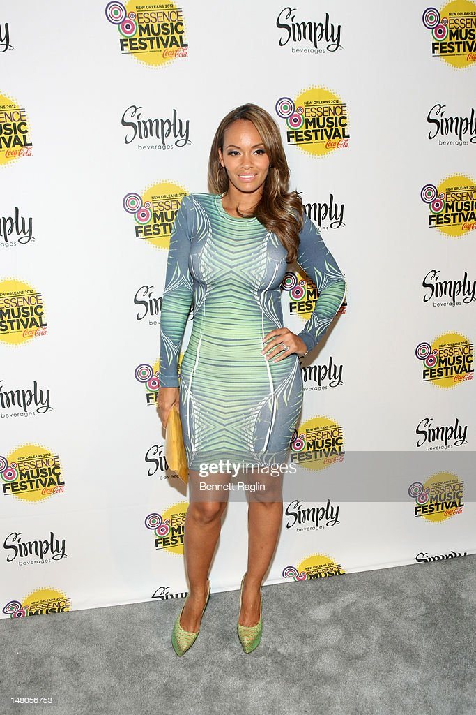 Recording artist Evelyn Lozada attends the 2012 Essence Music Festival at Ernest N. Morial Convention Center on July 8, 2012 in New Orleans, Louisiana.
