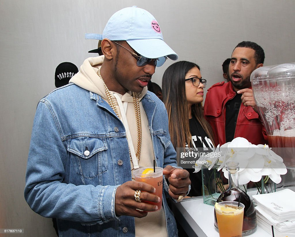 Recording artist Fabolous attends the D'USSE VIP Riser At Rihanna: ANTI World Tour at Barclays Center on March 27, 2016 in New York City.