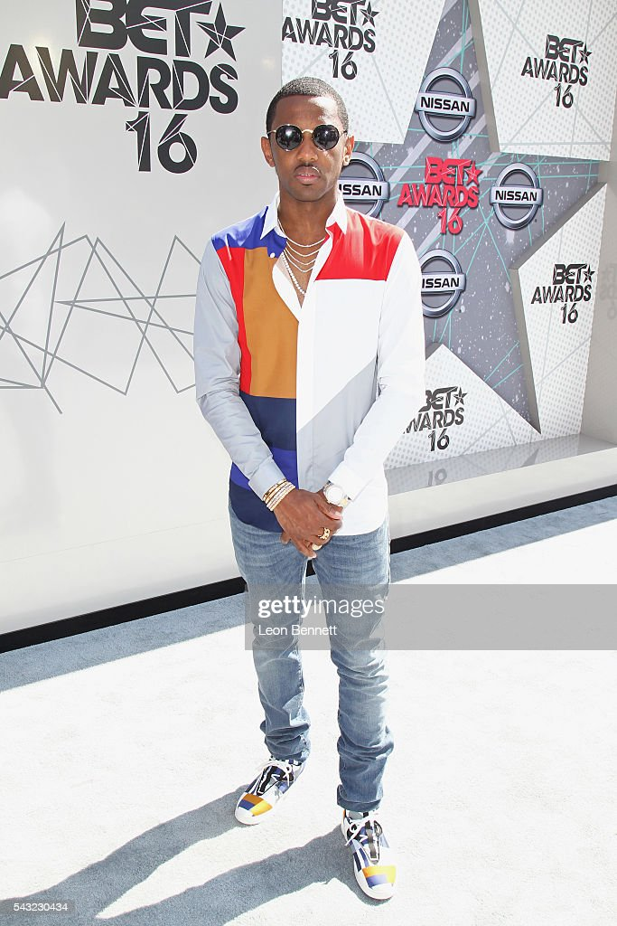 Recording artist <a gi-track='captionPersonalityLinkClicked' href=/galleries/search?phrase=Fabolous&family=editorial&specificpeople=215255 ng-click='$event.stopPropagation()'>Fabolous</a> attends the Make A Wish VIP Experience at the 2016 BET Awards on June 26, 2016 in Los Angeles, California.