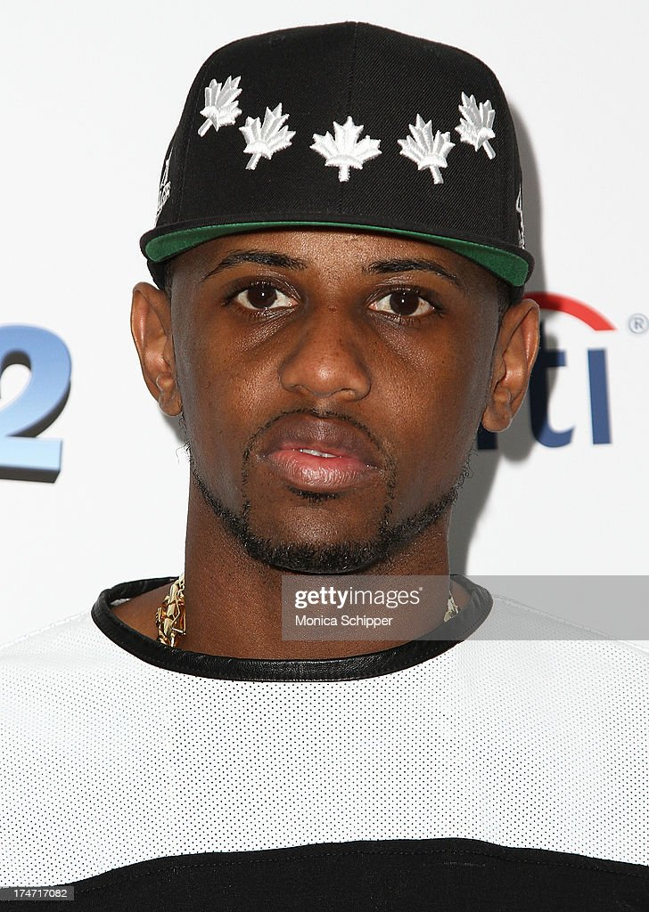 Recording artist <a gi-track='captionPersonalityLinkClicked' href=/galleries/search?phrase=Fabolous&family=editorial&specificpeople=215255 ng-click='$event.stopPropagation()'>Fabolous</a> attends 'The Smurfs 2' New York Blue Carpet Screening at Lighthouse International Theater on July 28, 2013 in New York City.