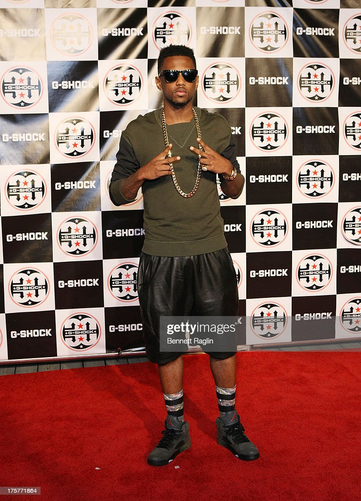 Recording artist Fabulous attends G-Shock - Shock The World 2013 at Basketball City - Pier 36 - South Street on August 7, 2013 in New York City.