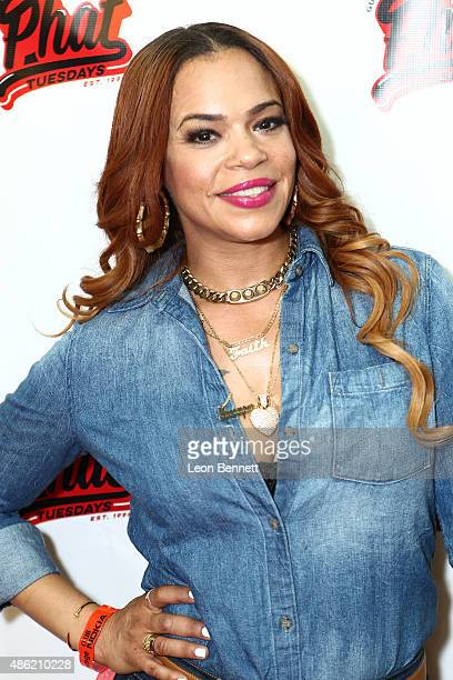 Recording artist Faith Evans attends the 20th Anniversary Of Phat Tuesdays at Club Nokia on September 1 2015 in Los Angeles California