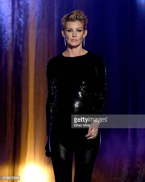 Recording artist Faith Hill performs onstage during the 2015 Billboard Music Awards at MGM Grand Garden Arena on May 17 2015 in Las Vegas Nevada