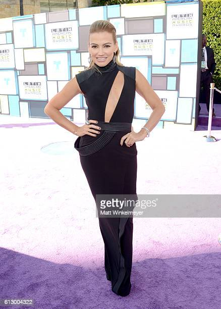 Recording artist Fanny Lu attends the 2016 Latin American Music Awards at Dolby Theatre on October 6 2016 in Hollywood California