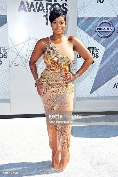 Recording artist Fantasia Barrino attends the 2016 BET Awards at Microsoft Theater on June 26 2016 in Los Angeles California