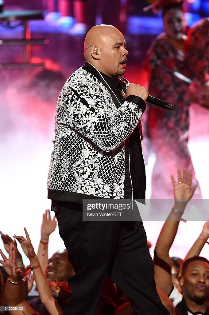 Recording artist <a gi-track='captionPersonalityLinkClicked' href=/galleries/search?phrase=Fat+Joe&family=editorial&specificpeople=201584 ng-click='$event.stopPropagation()'>Fat Joe</a> performs onstage during the 2016 BET Awards at the Microsoft Theater on June 26, 2016 in Los Angeles, California.