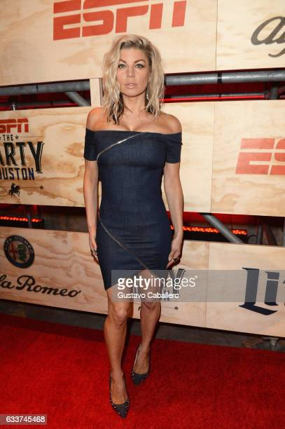 Recording artist Fergie attends the 13th Annual ESPN The Party on February 3 2017 in Houston Texas