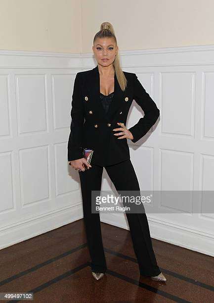 Recording artist Fergie attends the 76th Annual Two Ten Footwear Foundation Dinner and Awards on December 1 2015 in New York City