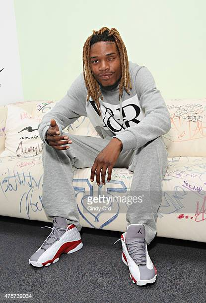 Recording artist Fetty Wap visits Music Choice on June 3 2015 in New York City