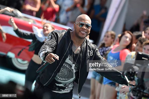 Recording artist Flo Rida arrives at the Teen Choice Awards 2016 at The Forum on July 31 2016 in Inglewood California