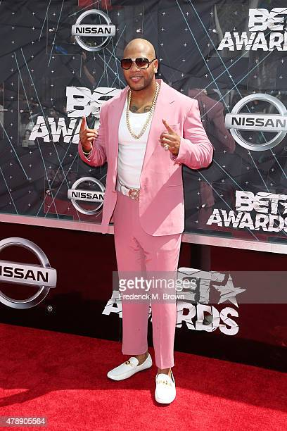 Recording artist Flo Rida attends the 2015 BET Awards at the Microsoft Theater on June 28 2015 in Los Angeles California
