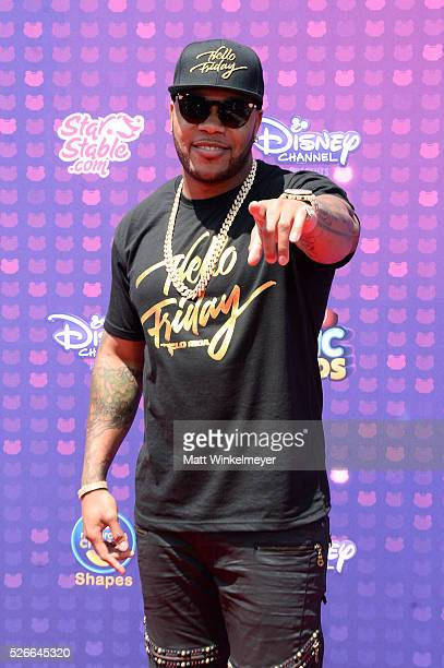 Recording artist Flo Rida attends the 2016 Radio Disney Music Awards at Microsoft Theater on April 30 2016 in Los Angeles California