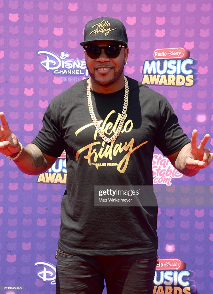 Recording artist Flo Rida attends the 2016 Radio Disney Music Awards at Microsoft Theater on April 30, 2016 in Los Angeles, California.