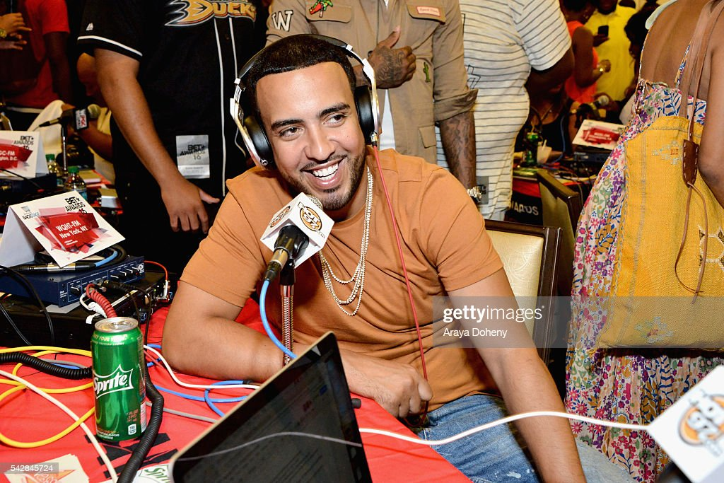Recording artist <a gi-track='captionPersonalityLinkClicked' href=/galleries/search?phrase=French+Montana&family=editorial&specificpeople=7131467 ng-click='$event.stopPropagation()'>French Montana</a> attends the radio broadcast center during the 2016 BET Experience at the JW Marriott Los Angeles L.A. Live on June 24, 2016 in Los Angeles, California.